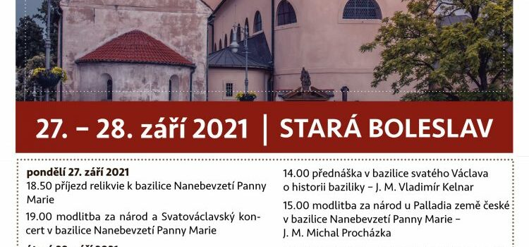 Pojďte se společně modlit za český národ
